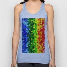 Rainbow Moon Love Unisex Tank Top