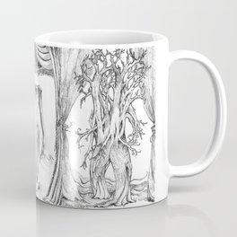 Haunted Clothing-Beetle, Ocean and Tree  Coffee Mug