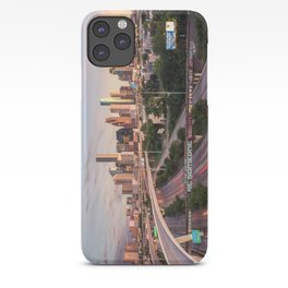 Be Someone in Downtown Houston, Texas during sunset iPhone Case