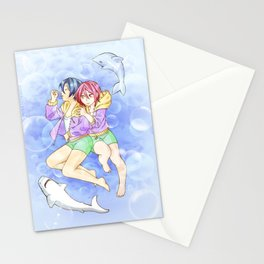 Free! child Haruka and Rin Stationery Cards