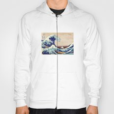 Katsushika Hokusai The Great Wave Off Kanagawa Hoody