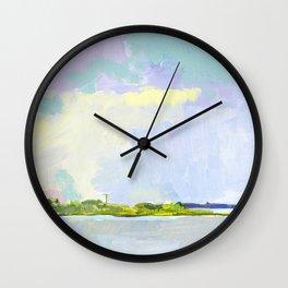 Bay View, Long Beach Island, New Jersey Wall Clock