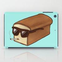 bread iPad Cases featuring Cool Bread by Josh LaFayette
