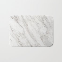 White Marble Bath Mat