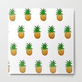 Pineapples for Days Metal Print