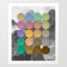 Crop Circles 3 Art Print