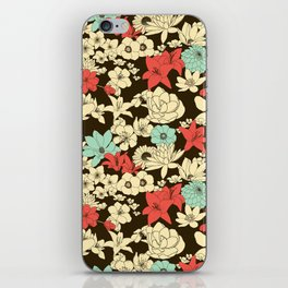 Flower Market iPhone Skin