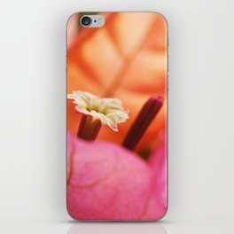 Beautiful Brazilian flower's Heart  91 iPhone Skin