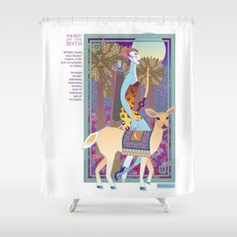 Women of the Myth: Artemis-Diana Shower Curtain