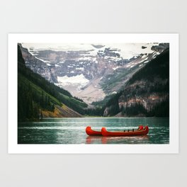 Kayak Canada Art Print