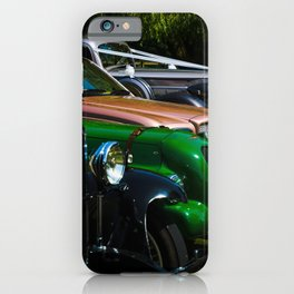 classic and vintage iPhone Case