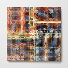 hook stream collision rumination Metal Print
