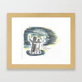 You're My Best Friend Framed Art Print