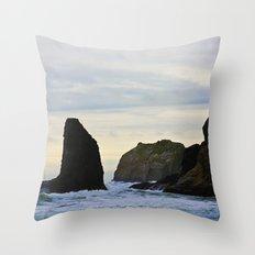Pacific Northwest Coast II Throw Pillow