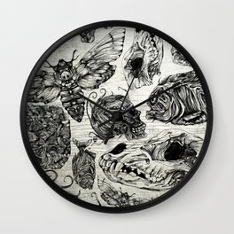 Bones and Co Wall Clock