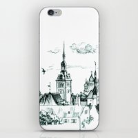 medieval iPhone & iPod Skins featuring Medieval landscape. by LaDa