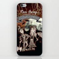 rock n roll iPhone & iPod Skins featuring Rock 'N' Roll Circus by Melissa Morrison