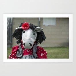Little Horse on the Prairie Art Print