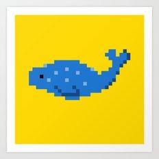 8-bit Seal Art Print