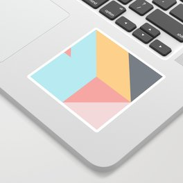 Geometric Pattern VII Sticker