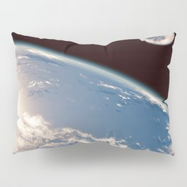 Earth and Moon Pillow Sham