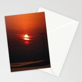 Sunrise in Abu Dhabi Stationery Cards