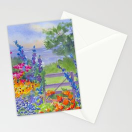 Celia Thaxter Garden at Isle of Shoals Stationery Cards