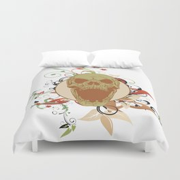 Laughing Skull Duvet Cover