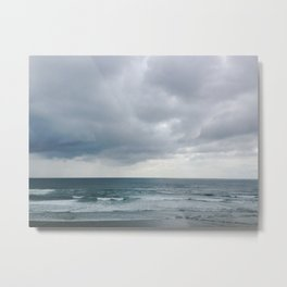 Grey Seas Metal Print