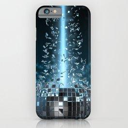 Disco explosion iPhone Case