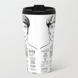 Peaky Blinders - Tattoo Tommy Shelby Travel Mug