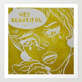 It's Not a Compliment #2 Art Print