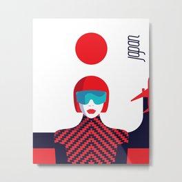 Stylish Journey - Japan Metal Print