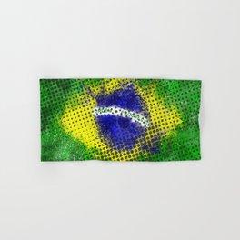 Brazil - Brazilian Flag Hand & Bath Towel