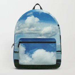 Coastline Clouds Backpack