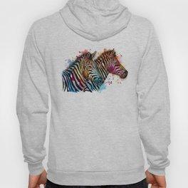 Sunset Zebras Hoody