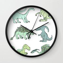 Happy dinosaur Wall Clock
