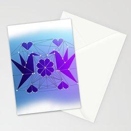 Origami Hummingbirds Stationery Cards