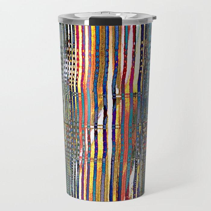 Combed Texture I Travel Mug
