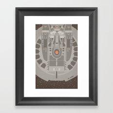 Star Trek NX - 01 Refit Framed Art Print