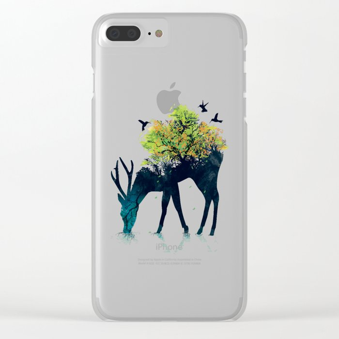 Watering (A Life Into Itself) Clear iPhone Case