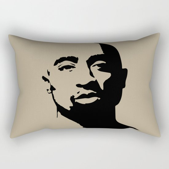 Tupac's Real Dream Rectangular Pillow