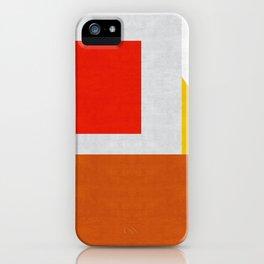 Colorful geometry III iPhone Case