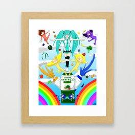 Popipo ! Framed Art Print