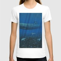 submarine T-shirts featuring U99 Submarine by Simone Gatterwe