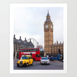 Parliament Square Art Print