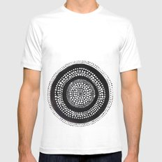 Dotto 27 MEDIUM Mens Fitted Tee White