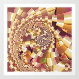 Fractal Quake Art Print
