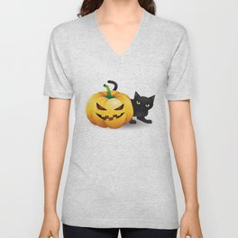 halloween Unisex V-Neck