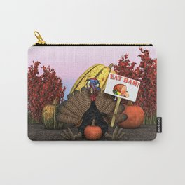 One Perturbed Bird Carry-All Pouch